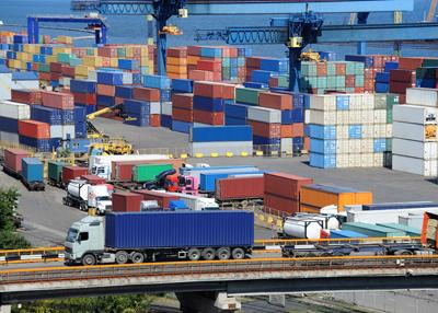 Spårning av godsbehållare och gods